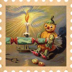 THREE LITTLE KITTENS BLOG   31 Days of Spooky Seals - Free Digital Goodies - Halloween Printables