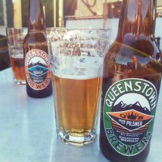 Willemien. is drinking a 25oz Pilsner by Queenstown Brewers on Untappd