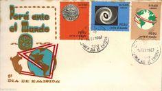 Peru 1967 FDC ante el Mundo