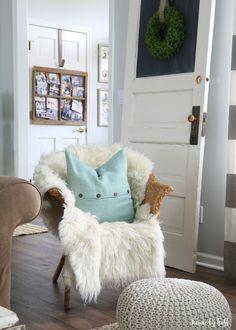 Acogedor casa de invierno a través de la casa por Hoff15