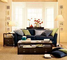 greenwich sofa, pottery barn