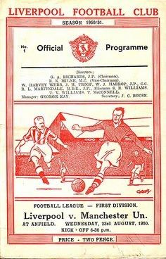 We offer a huge range of Liverpool programmes for sale, browse the site and buy online. We also buy Liverpool programmes. Liverpool Football Club, Liverpool Fc, Gerrard Liverpool, Fulham Fc, Sir Alex Ferguson, Football Program, Retro Ads, Vintage Football, Man United