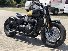 Triumph Bobber Custom, Motorcycle, Vehicles, Biking, Motorcycles, Vehicle, Engine, Choppers, Motorbikes