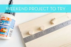 Weekend Project: How to Make a DIY Wood Shelf for the Entryway