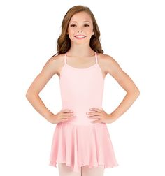 Body Wrappers Girls Camisole Dress