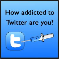 How addicted to Twitter are you? Quiz, I demand you to take it!