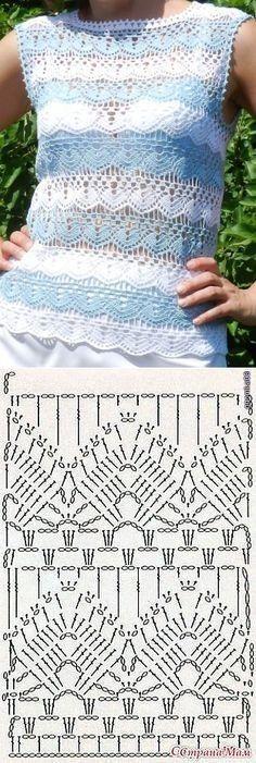 Ideas Crochet Lace Sweater Pattern Knitting Stitches For 2019 T-shirt Au Crochet, Cardigan Au Crochet, Pull Crochet, Gilet Crochet, Mode Crochet, Crochet Gratis, Crochet Jacket, Crochet Diagram, Crochet Cardigan