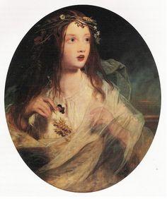 "James Sant (1820-1916) - ""Ophelia"""