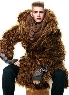 Modern Victorian Menswear - The Tom Lander 'Glamorous Winter' Spread for Dazed Magazine (GALLERY) I would so wear this :)