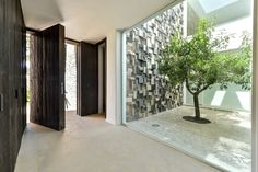 House Main Entrance. New built Ibizan finca inspired style modern home near Santa Eulalia. Ref. 322102, for sale, by Kelosa | Ibiza Selected Properties
