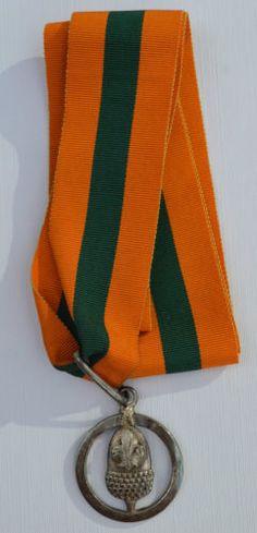 1957 - Boy Scout Medal - Bar to Silver Acorn Award - Silver Boy Scout Badges, Was, Scouting, Boy Scouts, Acorn, Boy Or Girl, Knots, Tassel, Boy Scouting