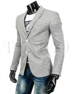 Pánské stylové sako - Piacenza, šedé Blazer, Jackets, Fashion, Down Jackets, Moda, Fashion Styles, Blazers, Fashion Illustrations, Jacket