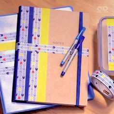 Personalize your school supplies.