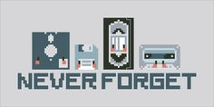 Never Forget - Retro Devices by Cloudsfactory