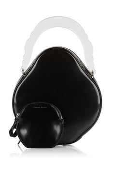 Rounded Leather Bag by Simone Rocha for Preorder on Moda Operandi
