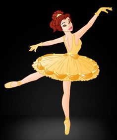 Disney Ballerina: Belle by Images Disney, Disney Pictures, Disney Fan Art, Disney Style, Cute Disney, Disney Girls, Disney Princess Belle, Belle Beauty And The Beast, Disney And Dreamworks