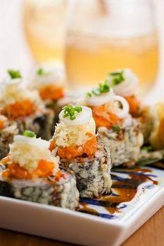 Deep-fried sushi