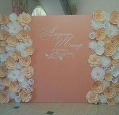 Paper flowers wedding