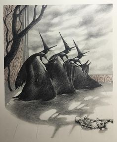 """Brandi Milne - """"What Is This Which Frightens You Witch?"""" Halloween Art, Holidays Halloween, Vintage Halloween, Halloween Witches, Halloween Drawings, Halloween Table, Halloween Images, Halloween Signs, Vintage Holiday"""
