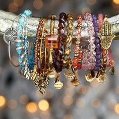 When it comes to Alex & Ani bracelets: The more, the merrier.