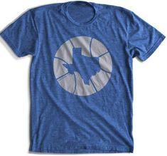 190b6bcd0 Hardwood, TX - Texas In Basketball | Texas T-Shirt | Basketball Graphic Tee