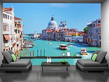Venice, Italy. Grand Canal Wall Mural Photo Wallpaper GIANT WALL DECOR FREE GLUE