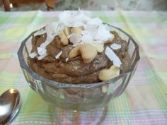 Must Try 30-second chocolate kefir pudding! Cocoa, kefir, avocado, and chia with variation of PB or banana