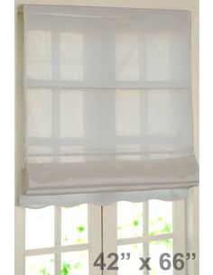 #DecoWindow #Blinds Roman Blind Bangalore Silk Ivory  at ₹799.00