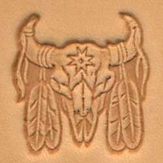 Right Facing Springfield Leather Company Attack Eagle 3D Leather Stamp