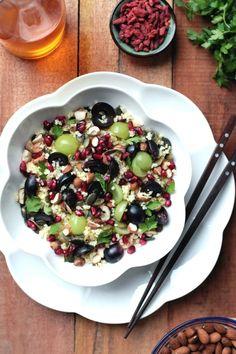 Kasza jaglana z winogronami | gotuj zdrowo!