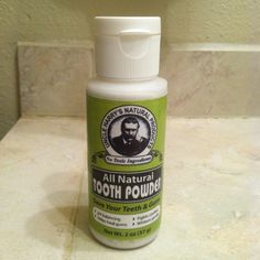 Will never buy toothpaste again. This stuff is amazing, my teeth feel so clean!   Uncle Harry's Natural Tooth Powder is made of 100% natural ingredients with no synthetic additives such as preservatives, foaming agents, colors, artificial flavors, baking soda, etc. It is very effective for receding or infected gums and a preventive for recurring cavities. Once the teeth are cleaned of plaque, the regular use of this Tooth Powder will quickly tighten up the gums and help prevent further…