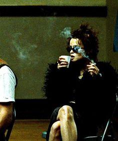 Helena Bonham Carter as Marla Singer in Fight Club Helena Bonham Carter, Helen Bonham, Helena Carter, Fight Club Marla, Fight Club 1999, Chuck Palahniuk, Marla Singer, Arte Punk, Arizona Robbins