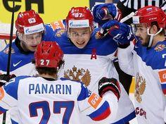 ЧМ-2016 по хоккею. В День Победы Россия обыграла Латвию