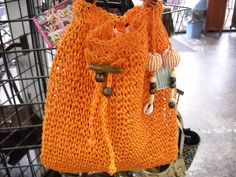 Orange purse just in time for fall!