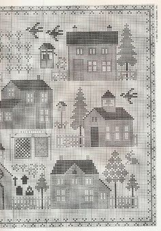 ru / Фото - The Prairie Schooler - didu Santa Cross Stitch, Cross Stitch House, Cross Stitch Tree, Cross Stitch Books, Cross Stitch Alphabet, Cross Stitch Samplers, Cross Stitch Charts, Cross Stitch Designs, Cross Stitch Patterns