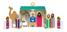 MOMA 3D Nativity