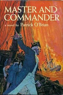 Master and Commander is a historical naval novel by English author Patrick O'Brian. First published in 1969 (US) (1970 in UK), it is first in the Aubrey-Maturin series of stories of Jack Aubrey and the naval surgeon Stephen Maturin. Closely based on the historical feats of Lord Cochrane, O'Brian's novel is set in the Napoleonic Wars.