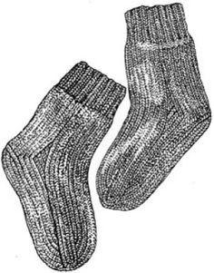 Joan's Socks Pattern (Crochet)