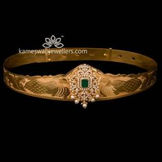 KJ Support says… Gold Temple Jewellery, Fancy Jewellery, Gold Jewellery Design, Gold Earrings Designs, Necklace Designs, Gold Jewelry Simple, Coral Jewelry, Vaddanam Designs, Waist Jewelry