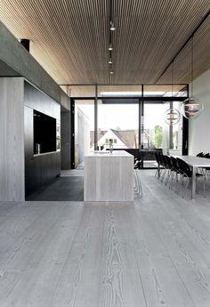 Spodsbjerg House / Arkitema #wooden #ceiling