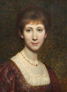 William Blake Richmond - Miss Dorothy Blake Richmond 1910