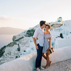 Our first trip to Greece was incredible and I can't wait to go back someday with my love @tberolz #greece #santorini #gmgtravels #oia