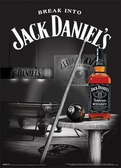 Merchandiseonline Jack Daniels - XL Bar Mirror (Snooker/Pool) (Size: x Jack Daniels Whiskey, Jack Daniels Logo, Jack Wills, Bebidas Jack Daniels, Coca Cola, Jack Daniel's Tennessee Whiskey, Whiskey Girl, Rye Whiskey, Vintage Posters