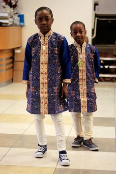 African inspired outfits for your adorable son. African Inspired Fashion, African Print Fashion, Africa Fashion, Boy Fashion, Queen Fashion, Style Fashion, Fashion Dresses, African Babies, African Children