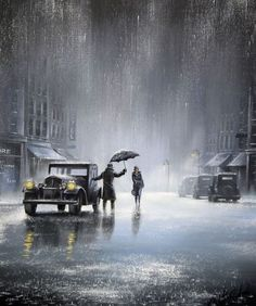 rainy day man & woman-jeff rowland