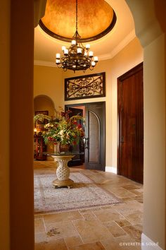 Mediterranean Entry Photos Foyer Design, Pictures, Remodel, Decor and Ideas - page 28