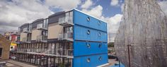 Clipper House - Projects - Container City