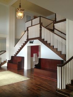 Omni Bedford Springs Resort stairs