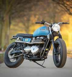 DOWN & OUT TRIUMPH T100 (via The Bike Shed)