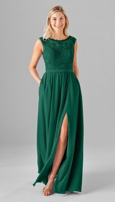 c2a68e86527 NEW Emerald green color on our popular Jade Embroidered Lace Bridesmaid  Dress. This hot